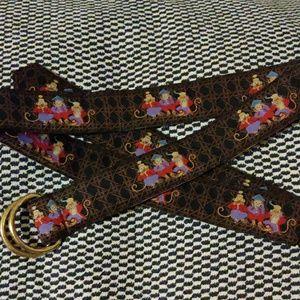 Cute rare J. McLaughlin monkey belt